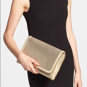 Phase 3 Gold Metallic Clutch Chain Strap